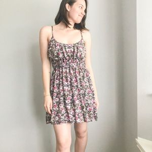 Floral Ruffle Front Sundress